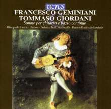 Francesco Geminiani (1687-1762): The Art of Playing the Guitar, CD