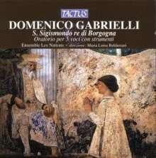 Domenico Gabrielli (1659-1690): S.Sigimondo Re Di Borgogna (Oratorium), CD