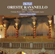 Oreste Ravanello (1871-1938): Orgelwerke, CD