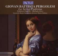 "Giovanni Battista Pergolesi (1710-1736): La Serva Padrona (""Die Magd als Herrin""), CD"