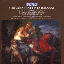 Giovanni Battista Bassani (1657-1716): Cantate Amorose, CD