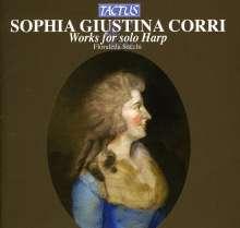 Sophia Giustina Corri (1775-1828): Werke für Harfe solo, CD