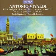 Antonio Vivaldi (1678-1741): Oboenkonzerte RV 448,452,456,462-465, CD