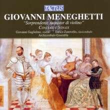 Giovanni Meneghetti (1730-1794): Concerti & Sonate, CD