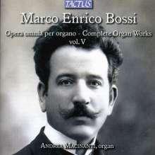 Marco Enrico Bossi (1861-1925): Orgelwerke Vol.5, CD