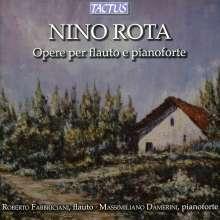 Nino Rota (1911-1979): Kammermusik für Flöte, CD