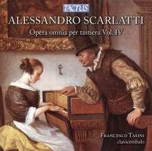 Alessandro Scarlatti (1660-1725): Sämtliche Werke für Tasteninstrumente Vol.4, CD