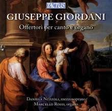 Giuseppe Giordani (1751-1798): Offertorien für Gesang & Orgel, CD