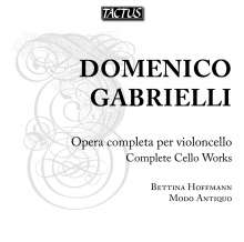 Domenico Gabrielli (1659-1690): Sonaten für Cello & Bc in G,G,A, CD