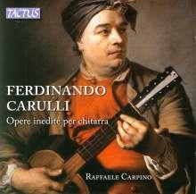 Ferdinando Carulli (1770-1841): Gitarrenwerke, CD