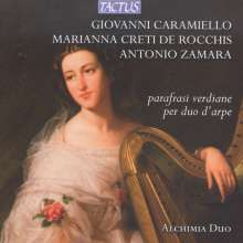 Alchimia Duo - Verdi-Paraphrasen für Harfenduo, CD