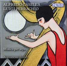 Alfredo Casella (1883-1947): Sonate für Harfe op.68, CD