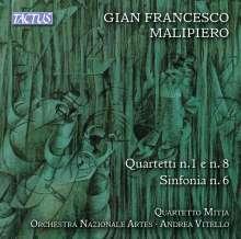 Gian Francesco Malipiero (1882-1974): Symphonie Nr.6, CD