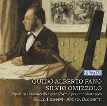Guido Alberto Fano (1875-1961): Cellosonate d-moll, CD