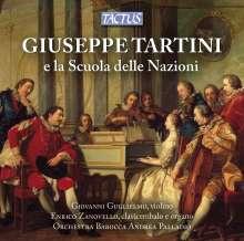 Giovanni Guglielmo - Giuseppe Tartini e la Scuola delle Nazioni, CD