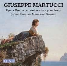 Giuseppe Martucci (1856-1909): Sämtliche Werke für Cello & Klavier, CD