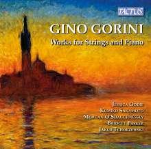 Gino Gorini (1914-1990): Klavierquintett, CD