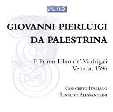 Giovanni Pierluigi da Palestrina (1525-1594): Primo Libro de Madrigali a quattro voci, CD