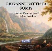 Giovanni Battista Somis (1686-1763): Violinsonaten op.2 Nr.1-12 (1723), CD