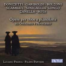Luciano Franca - Werke für Oboe & Klavier aus dem 18. & 19. Jahrhundert, CD