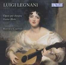 Luigi Rinaldo Legnani (1790-1877): Gitarrenwerke, CD