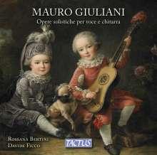 Mauro Giuliani (1781-1829): Werke für Stimme & Gitarre, CD
