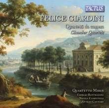 Felice Giardini (1716-1796): Streichquartette Nr.6 & op.25 Nr.4, CD