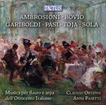Italienische Musik für Flöte & Harfe aus dem 18. Jahrhundert, CD