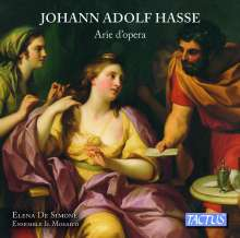 Johann Adolph Hasse (1699-1783): Arien aus Opern, CD