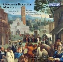 Giovanni Battista Martini (1706-1784): Azione Teatrale (1726), CD