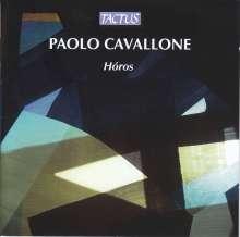 Paolo Cavallone (geb. 1975): Horos, CD