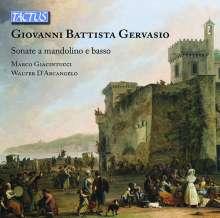Giovanni Battista Gervasio (1725-1827): 6 Sonaten für Mandoline & Bc, CD
