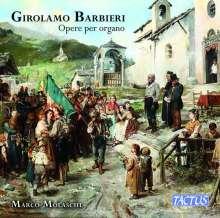 Girolamo Barbieri (1808-1871): Orgelwerke, CD