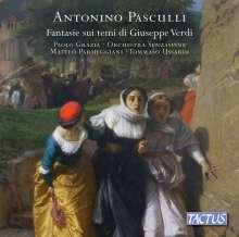 Antonino Pasculli (1842-1924): Fantasie sui temi di Giuseppe Verdi, CD