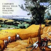 I Diporti Della Villa in Ogni Stagione, Venezia 1601, CD
