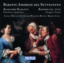 Alessandro Scarlatti (1660-1725): Intermezzi fra Palandrana e Zamberlucco, CD