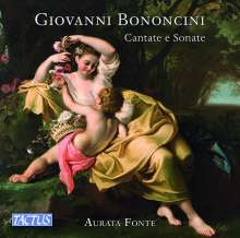 Giovanni Battista Bononcini (1670-1747): Kantaten & Sonaten, CD
