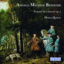 Angelo Michele Besseghi (1670-1744): Sonate da camera op.1 Nr.1-12 für Violine,Viola da gamba,Cembalo (Laute/Gitarre), 2 CDs