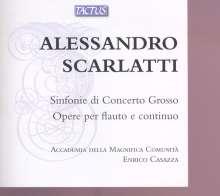 Alessandro Scarlatti (1660-1725): Sinfonie di concerto grosso Nr.1-12, 2 CDs