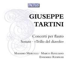 Giuseppe Tartini (1692-1770): Flötenkonzerte G.291,293,294, CD
