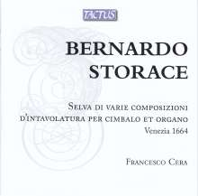 Bernardo Storace (1637-1707): Selva di Varie Composizioni d'Intavolatura per Cimbalo et Organo (Venezia 1664), 2 CDs