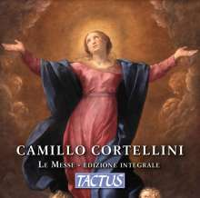 Camillo Cortellini (1561-1630): Messen, 3 CDs