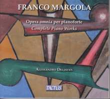 Franco Margola (1908-1992): Sämtliche Klavierwerke, 3 CDs