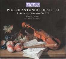 """Pietro Locatelli (1695-1764): Violinkonzerte op.3 Nr.1-12 """"L'Arte del Violino"""", 3 CDs"""
