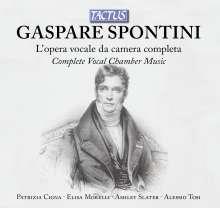 Gasparo Spontini (1774-1851): Sämtliche Vokalwerke, 5 CDs