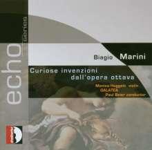 Biagio Marini (1597-1665): Curiose Invenzioni (aus op.8), CD