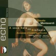 "Claudio Monteverdi (1567-1643): Arien ""A Voce sola,con sinfonie"", CD"