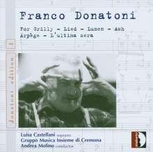 Franco Donatoni (1927-2000): Kammermusik, CD