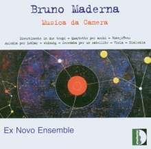 Bruno Maderna (1920-1973): Streichquartett, CD