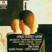 Giorgio Federico Ghedini (1892-1965): Klavierwerke, CD